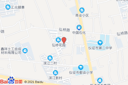弘桥花园地图信息