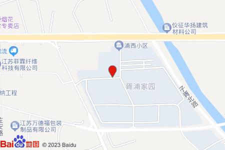 浦西小区地图信息