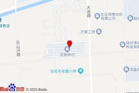农歌新村地图信息