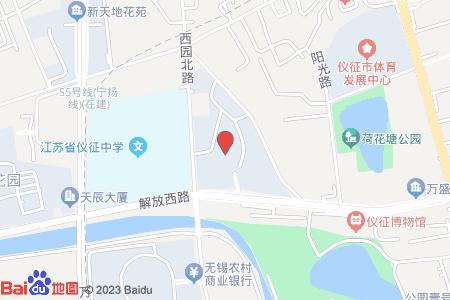 银都锦绣家园地图信息