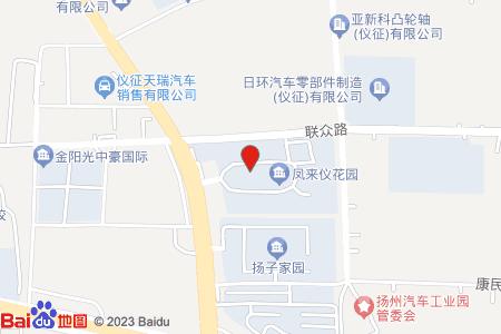 凤来仪花园地图信息
