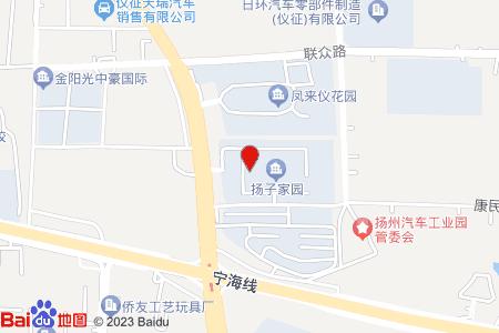 扬子家园地图信息