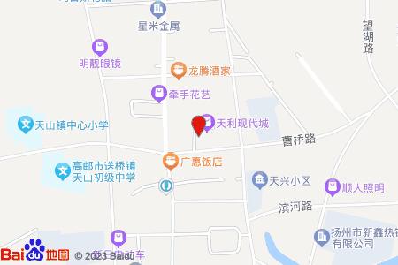 天利现代城地图信息