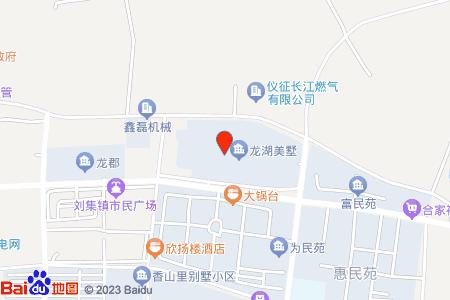 龙湖美墅地图信息