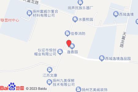 逸香园地图信息