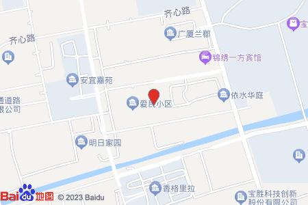 爱民小区地图信息