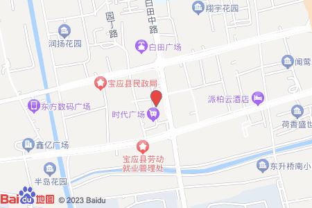 宝应时代广场地图信息