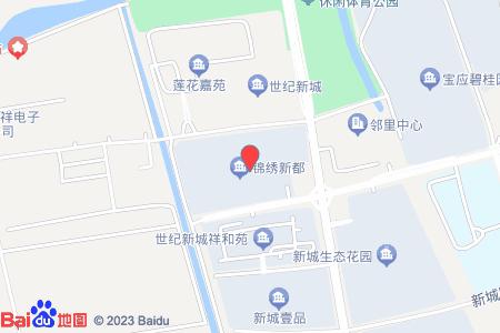 锦绣新都地图信息