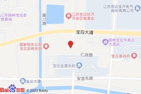 华美达国际公寓地图信息