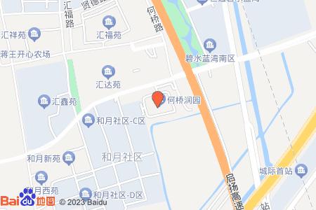 何桥润园地图信息