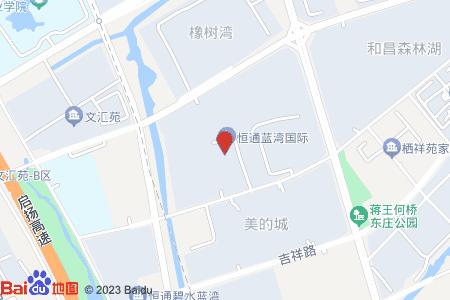 恒通蓝湾国际地图信息