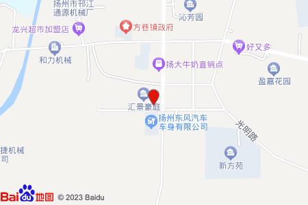 汇景豪庭地图信息