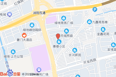 秦巷小区地图信息