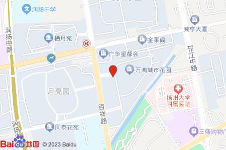 万鸿城市花园地图信息