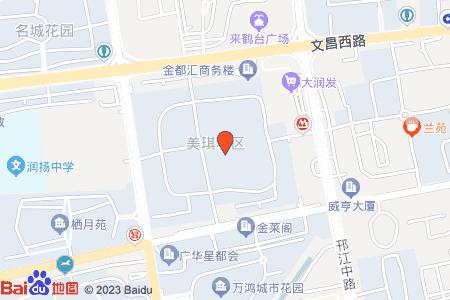 美琪小区地图信息