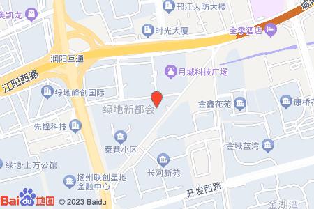 月城熙庭地图信息