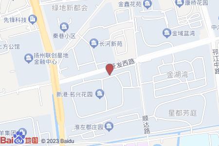 新港名兴花园地图信息