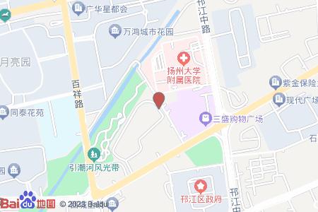 新港名仕花园地图信息