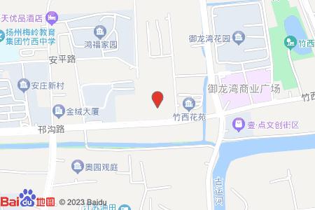 邗沟北苑地图信息