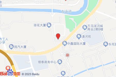 运河壹号公馆地图信息