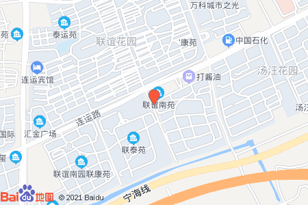 联谊南苑地图信息