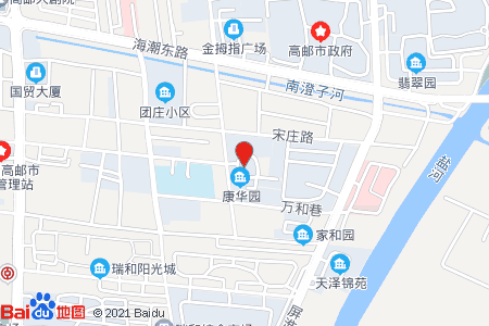 康华园地图信息
