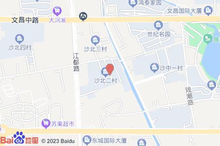 沙北二村地图信息