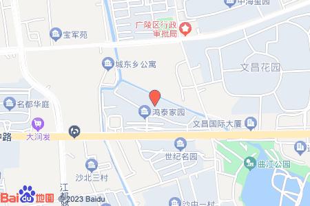 鸿泰家园地图信息