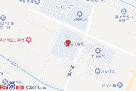 碧玉名居地图信息