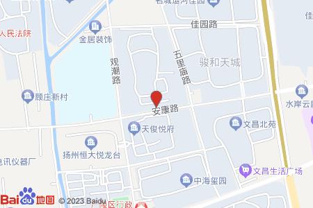 曲江新苑地图信息