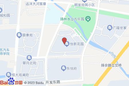 怡新花园地图信息