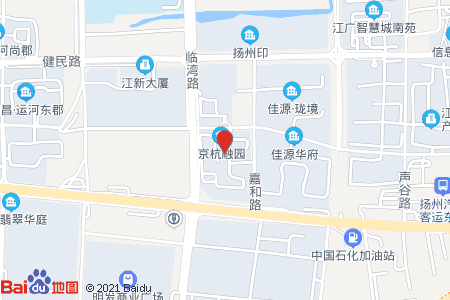 京杭融园地图信息