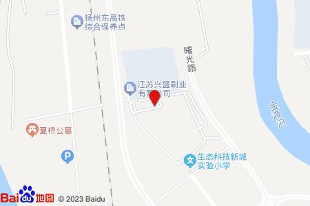 广厦花园地图信息
