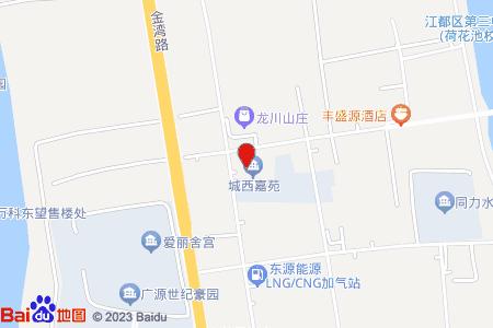 城西嘉苑地图信息