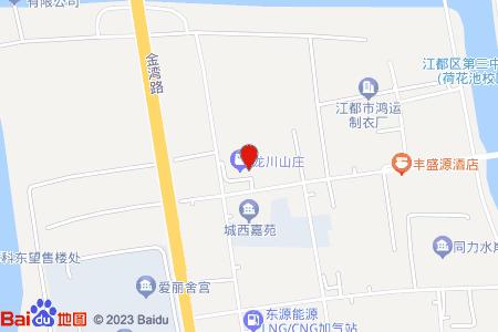 龙川山庄地图信息