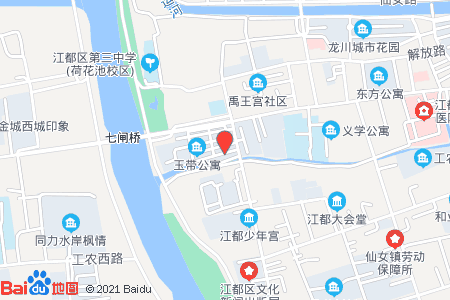 玉带公寓地图信息