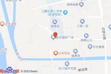 揽月国际广场地图信息