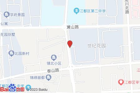 广源.世纪花园地图信息