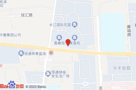 长江国际花园地图信息