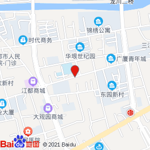 江都新世纪房产中介有限公司地图信息