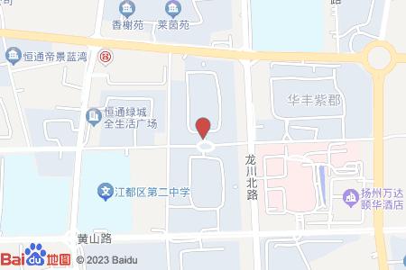 建盈国际城地图信息