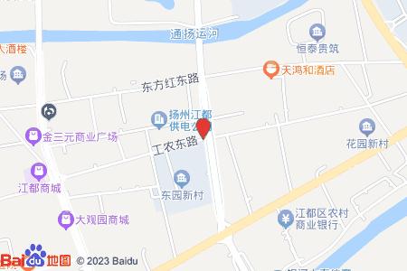 广厦青年城地图信息