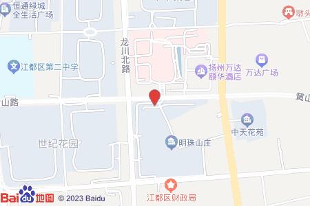 明珠山庄地图信息
