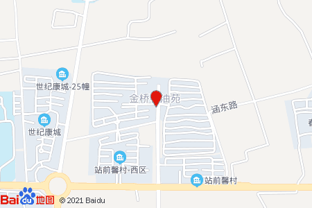 金桥石油苑地图信息