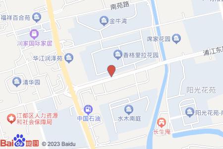 香格里拉花园地图信息