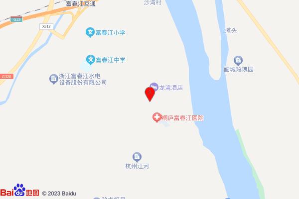 同方春江燕语交通图