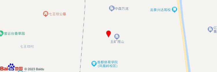 五矿观山产业园地图图标