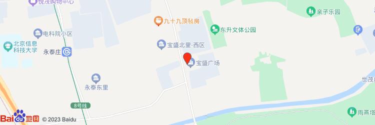 宝盛广场地图图标