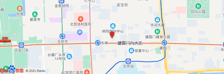 中纺大厦地图图标