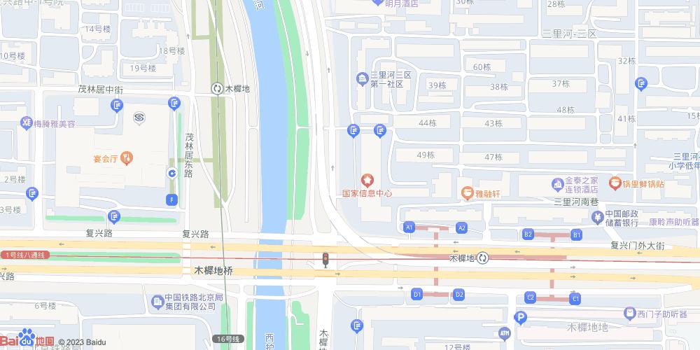 北京木樨地地铁站